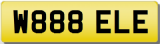 BELLE ELLE  Private Registration Cherished Number Plate inc. ALL TRANSFER FEES